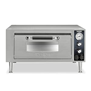 Waring Commercial WPO500 Single Pizza Oven, Silver