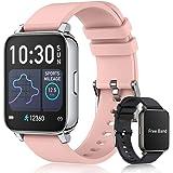 """Smartwatch Pulsera Inteligente con Medidor de Temperatura Corporal, EASYTAO Reloj Inteligente de 1,69"""" Fitness Tracker, termó"""