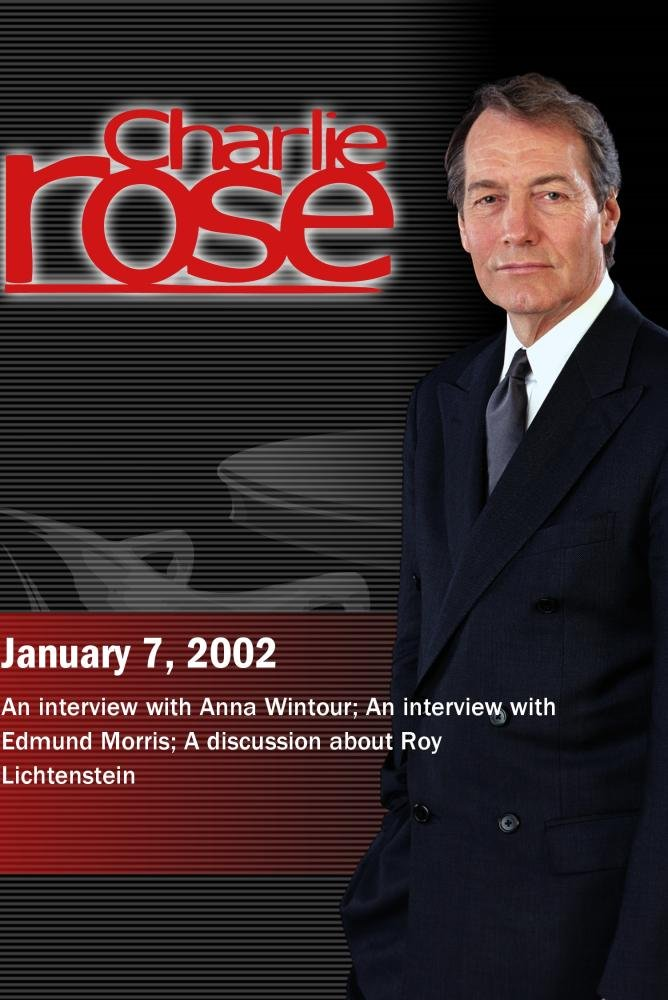 Charlie Rose with Anna Wintour; Edmund Morris; Dorothy Lichtenstein, Bonnie Clearwater & Jeff Koons (January 7, 2002)