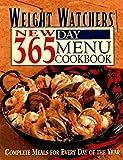 Weight Watchers New 365-Day Menu Cookbook, Weight Watchers International, Inc. Staff, 0028610156