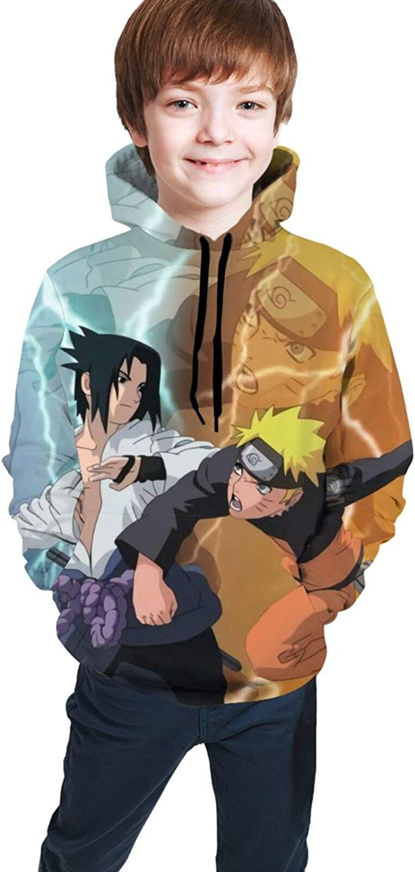 Silver Basic Teens 2D Japanese Anime Hooded Sweatshirt Naruto Kakashi Sasuke Hoodies /& Sweatshirt