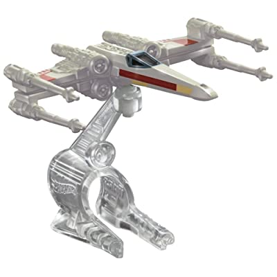 Hot Wheels Star Wars Starship X-Wing Fighter Red 3: Toys & Games