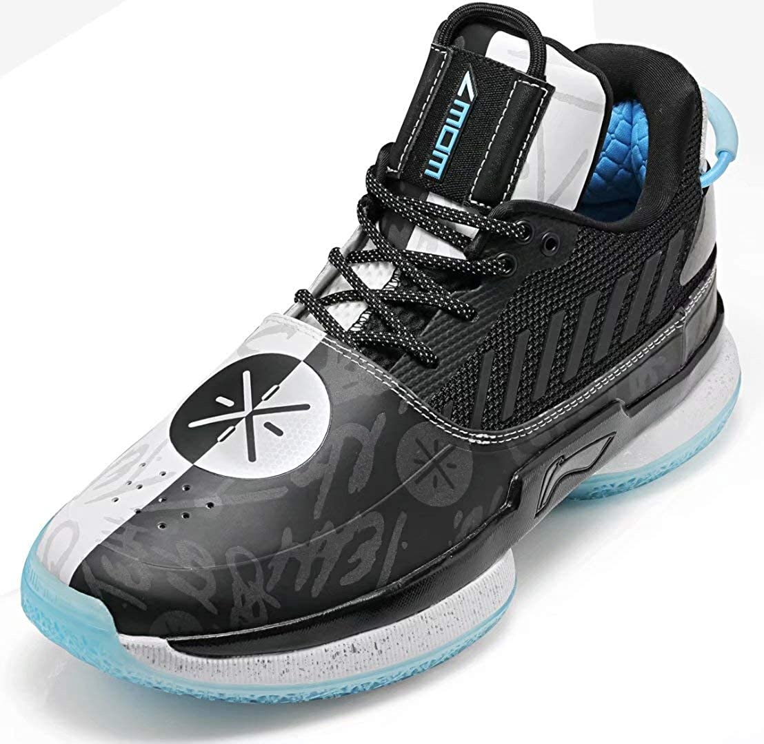 super populaire ab687 2bd28 LI-NING Wow 7 TeamNoSleep Wade Professional Basketball Shoes Lining  Cushioning Athletic Sneakers Sports Shoes ABAN079-5