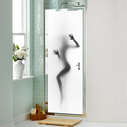 Amazon.com  Ferris Store Door Wall Sticker Sexy Women Self Adhesive ... c5c0fcc2a4
