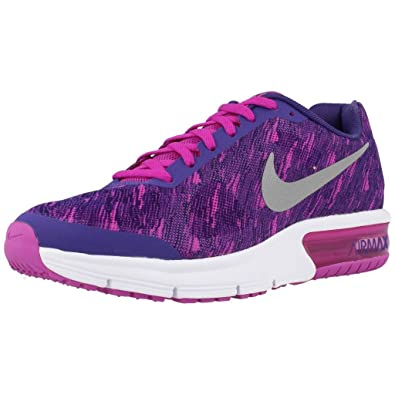 amazon com nike air max sequent print gs girls fashion