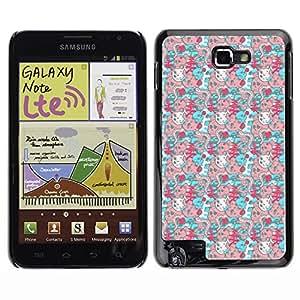 ZECASE Funda Carcasa Tapa Case Cover Para Samsung Galaxy Note I9220 No.0002348