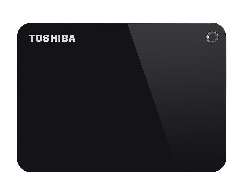 Toshiba Canvio Advance - Portable Disco Duro Externo 2.5 USB 3.0 (2 TB) Color Rojo 199211