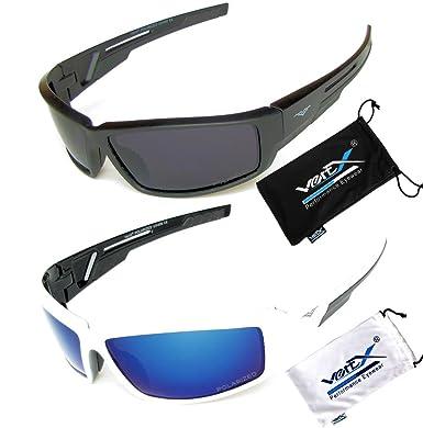 running sunglasses mens  Amazon.com: VertX Men\u0027s Polarized Sunglasses 2 Pack Sport Cycling ...