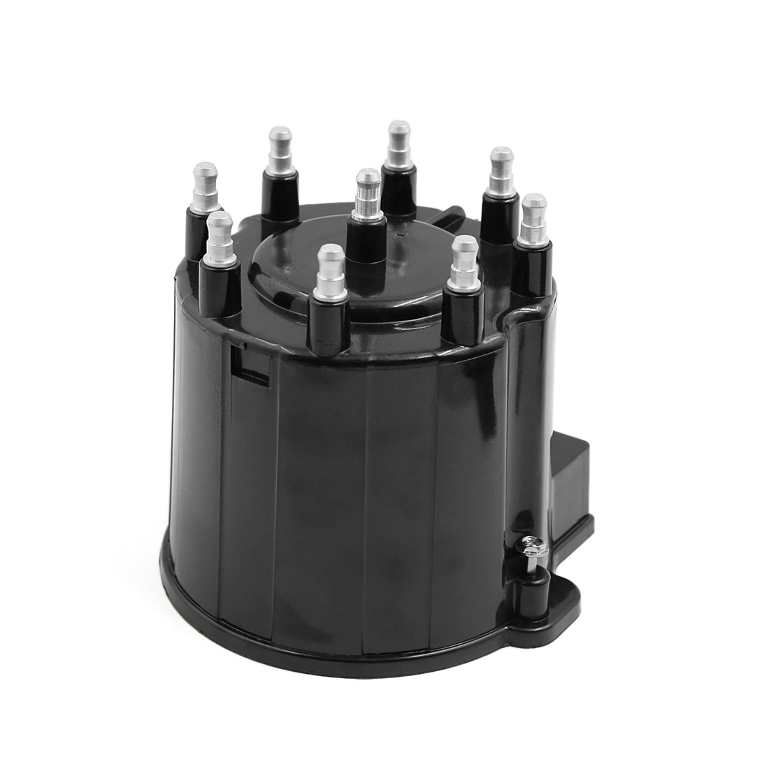 Uxcell a17051500ux1400 Black 19166099 D303A Automobile Car Ignition System Distributor Cap for Chevrolet C1500 C2500 C3500 G10 G20 G30
