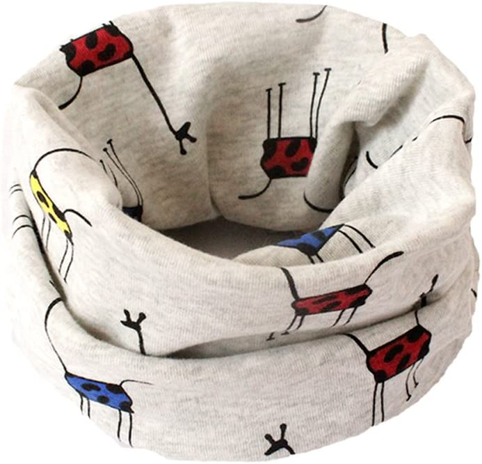 BIGBOBA Bufanda de puro algodón para niños. Bufanda calentadora de ...