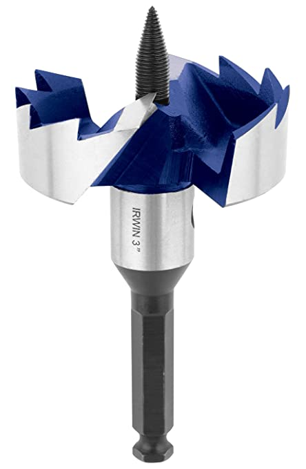 Irwin Industrial Tools 3046014 3-Inch 2-Cutter Self Feed Drill Bit