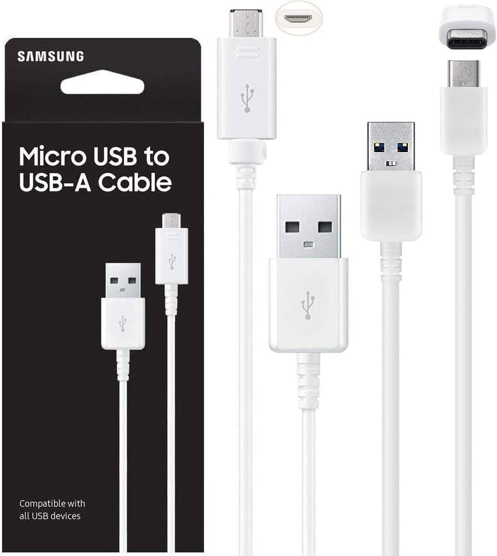 Premium White 5 ft feet 1.5 Meters Micro USB 3.0 Charging Data Sync Cable