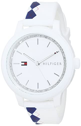 1ef9577870d5 Tommy Hilfiger Reloj Análogo clásico para Mujer de Cuarzo con Correa en  Silicona 1781812  Amazon.es  Relojes