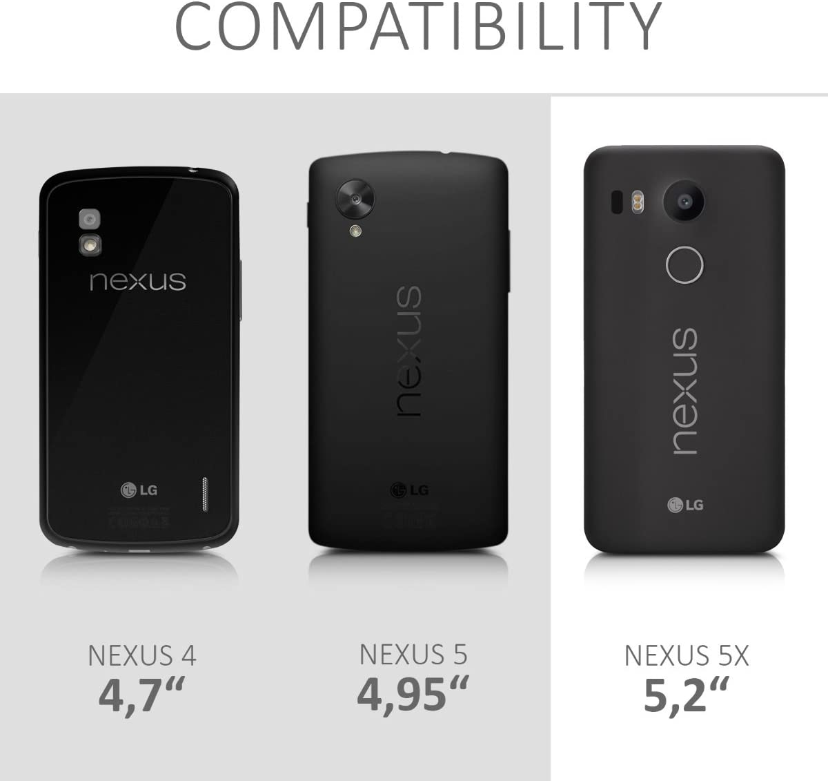 kwmobile Funda Compatible con LG Google Nexus 5X: Amazon.es ...