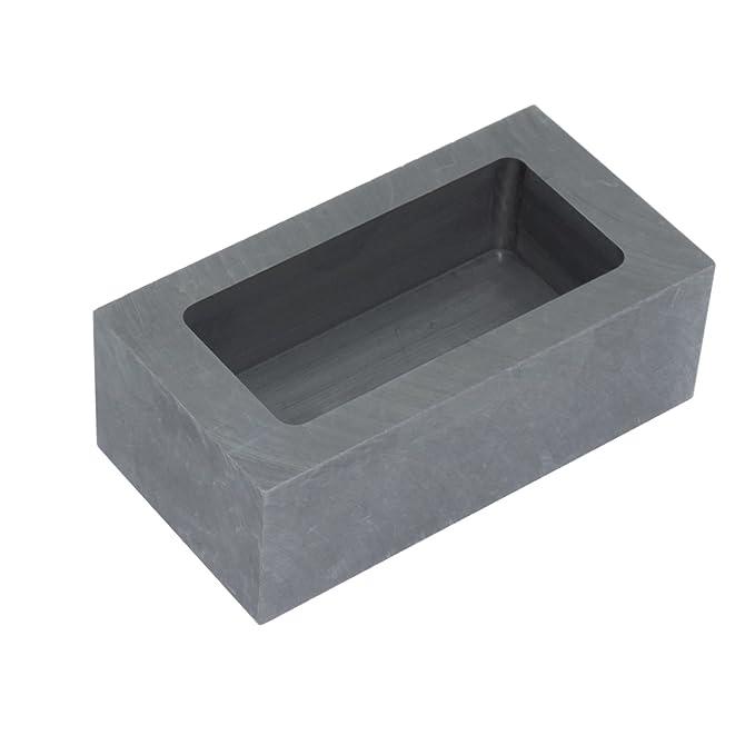 Molde de acero de grafito para derretir lingotes de oro, plata o aluminio: Amazon.es: Bricolaje y herramientas
