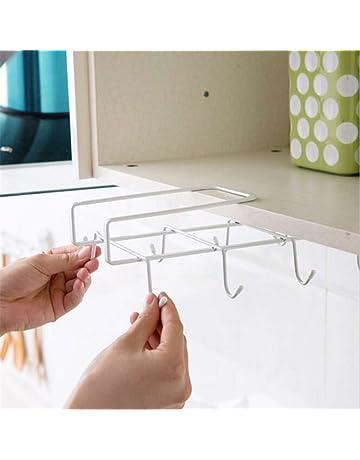 OUNONA Estante inferior taza soporte rack para armario de cocina 40d8721191bb