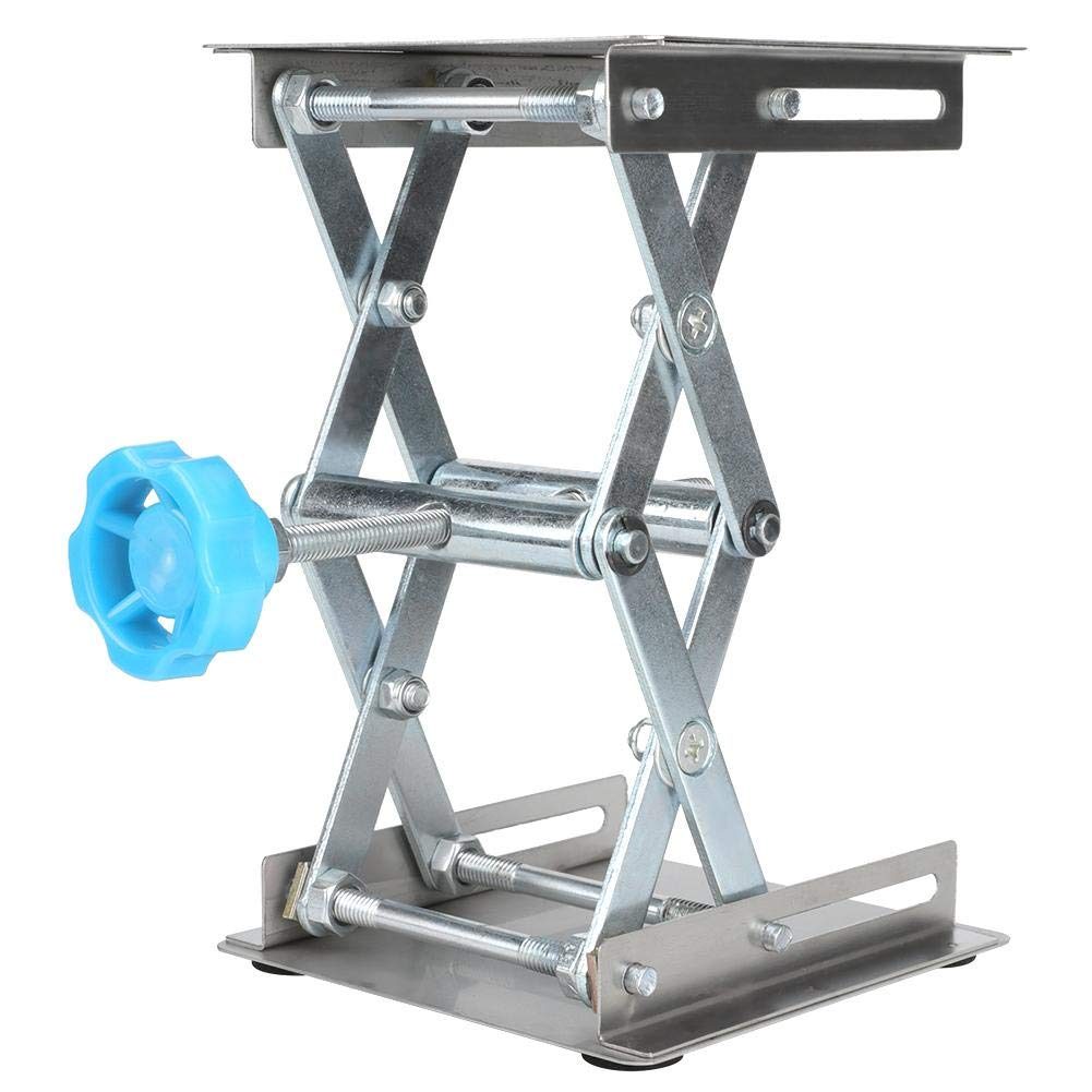 Laboratory Lifting Platform, Stainless Steel Manual Lift Tables for Adjusting The Height Position of The Subject