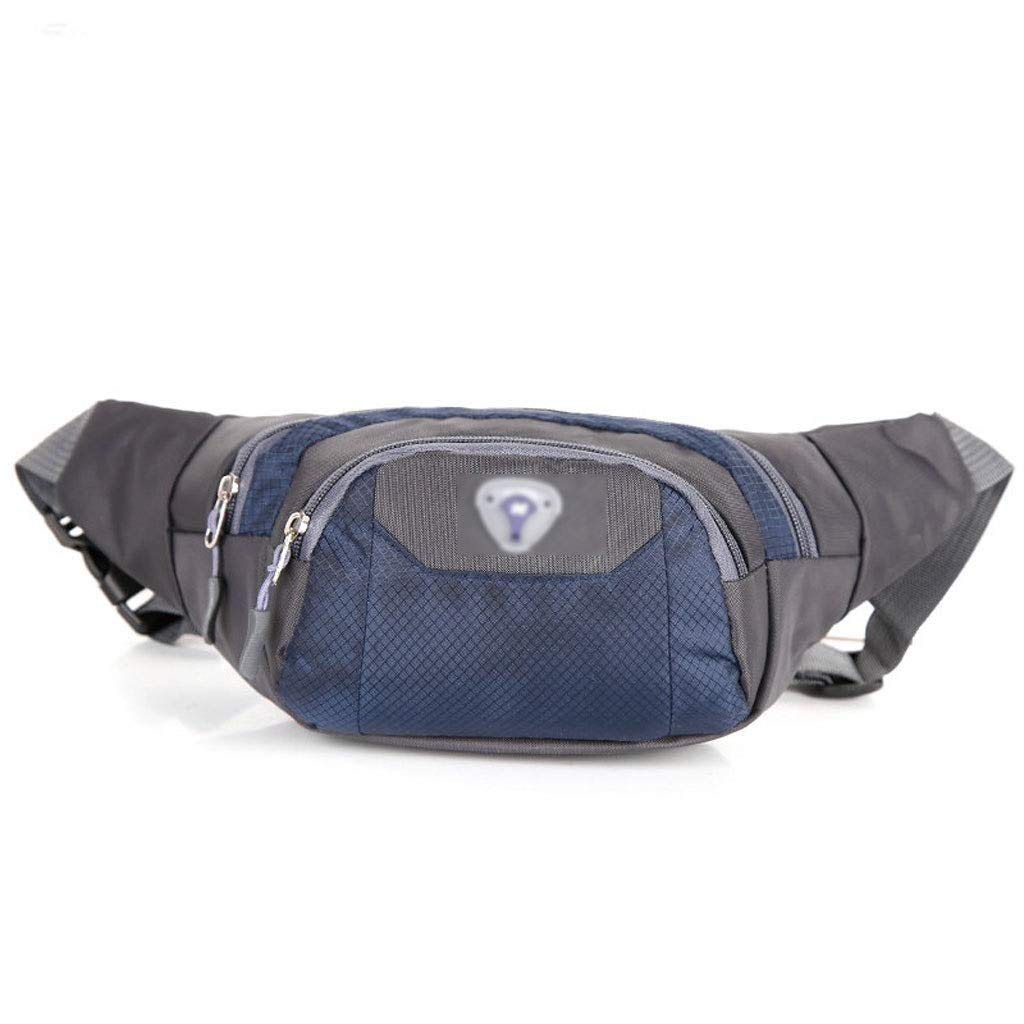 FS Ass Bag, Multi-Function Pocket Pockets, Sports and Leisure Diagonal Bag, Large-Capacity Pockets (Color : Navy Blue)