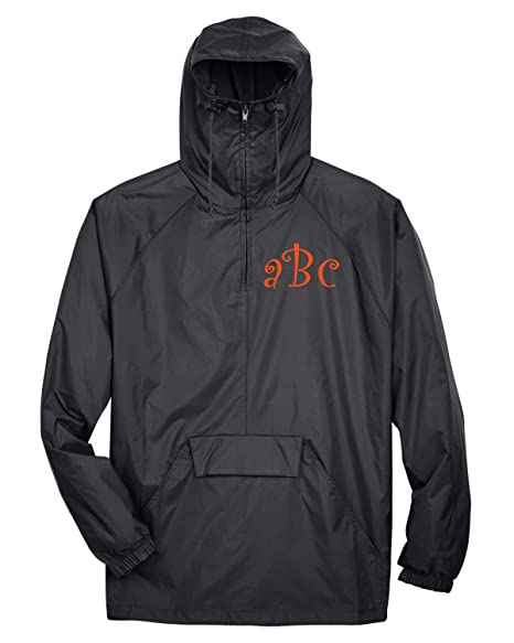 great deals on fashion browse latest collections sophisticated technologies UltraClub Monogrammed Rain/Wind Jacket Men/Unisex Sized at ...