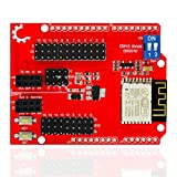 Tolako ESP8266 Web Server Serial Port WiFi Shield Expansion Board ESP-13 Compatible for Arduino UNO R3 MEGA 2560