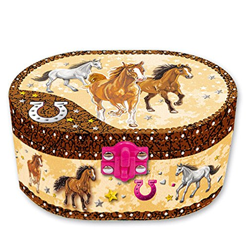 hot-focus-dashing-horse-oval-shaped-musical-jewelry-box