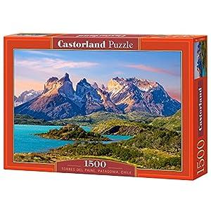Castor 150953 Torres Del Paine Patagonia Puzzle 1500 Pezzi