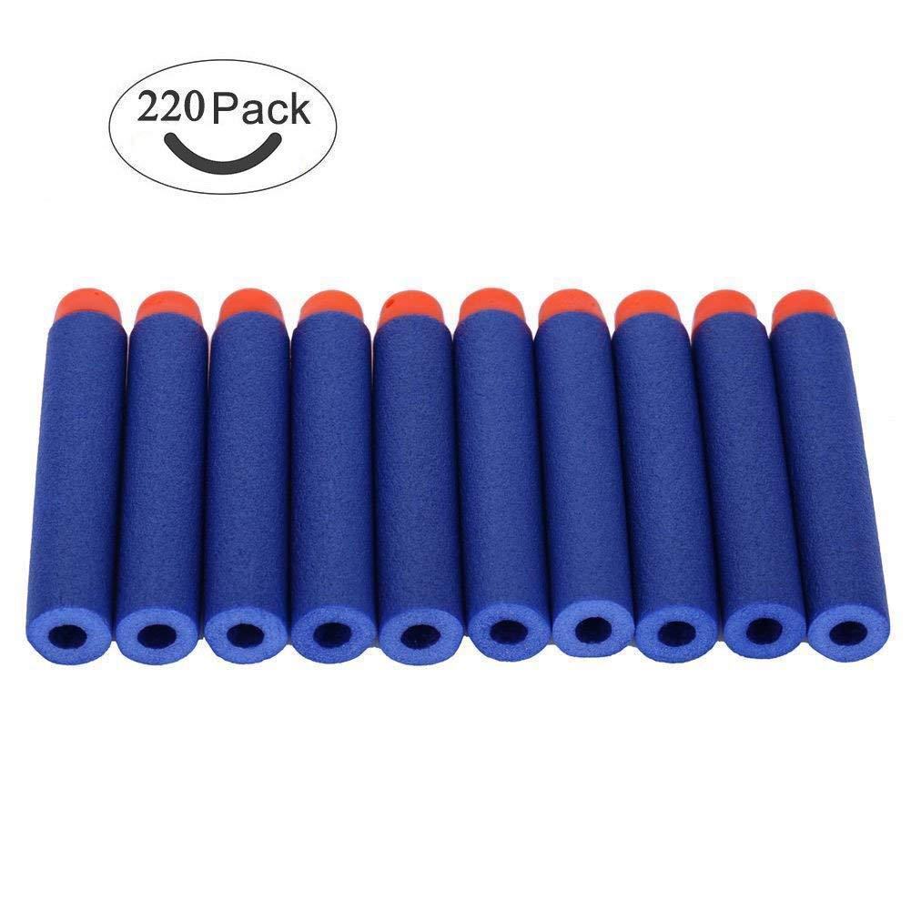 220er Darts Pfeile Für Nerf N-Strike Elite Bullets Zubehör für Nerfs Nachfüll-Pack Spielzeug Blau an er kang mao yi