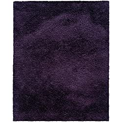 Oriental Weavers 81108 Cosmo Shag Area Rug, 3-feet 3-inch By 5-feet 3-inch, Purple