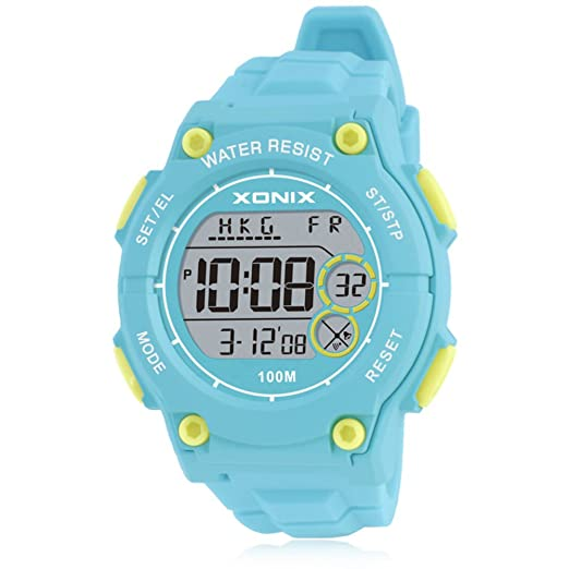 LEDNiños impermeable infantil luminoso piscina reloj digital-A: Amazon.es: Relojes
