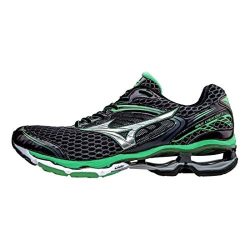 mizuno wave rider 18 fibra sint tica zapato para correr amazon es rh amazon es