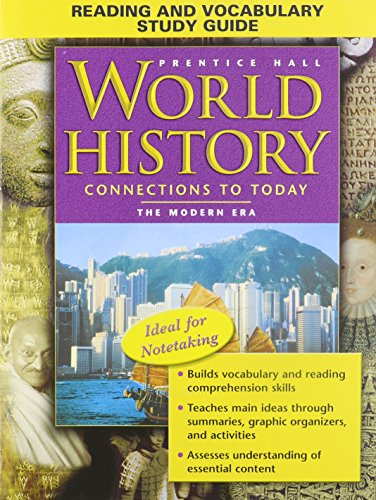 Reading and Vocabulary Study Guide (Prentice Hall World History Connections to Today the Modern Era)