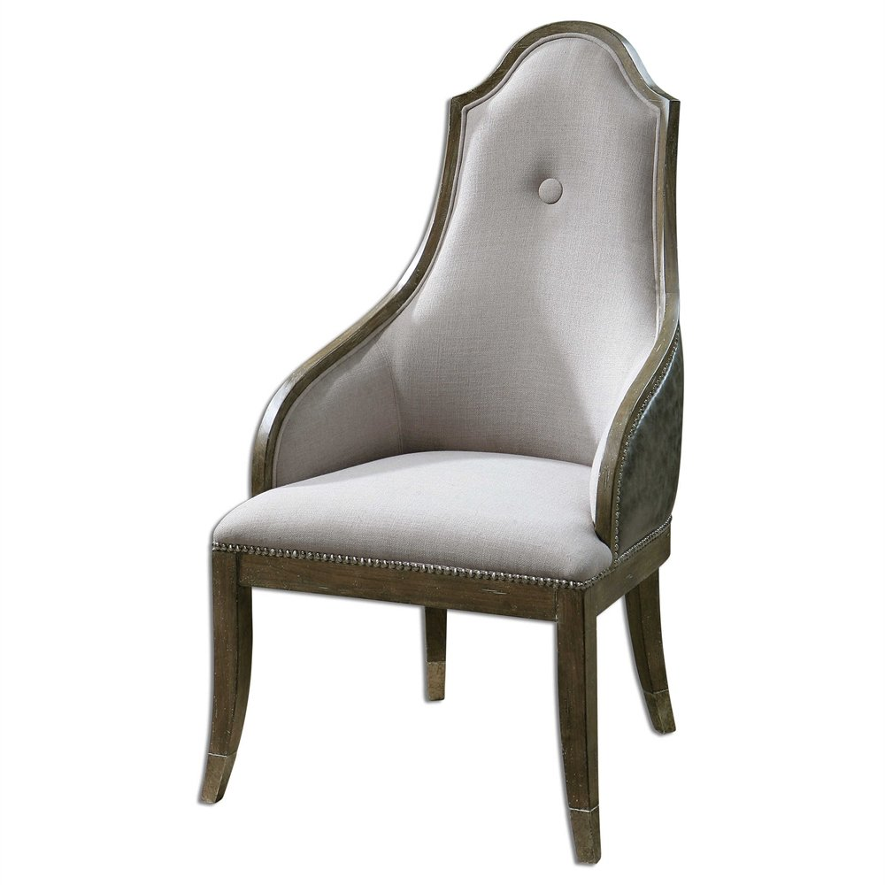 Amazon.com: Gris Accent silla la colección Sylvana Sillas ...