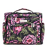 Ju-Ju-Be 09FM02ABLR Blooming Romance B.F.F. Convertible Diaper Bag, One Size