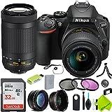 Nikon D5600 DSLR Digital Camera with Nikon 18-55mm f/3.5-5.6G Lens and Nikon 70-300mm Lens 2 Lenses Bundle