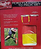 Rawlings Flag Football 10 Pack Set Yellow & Red
