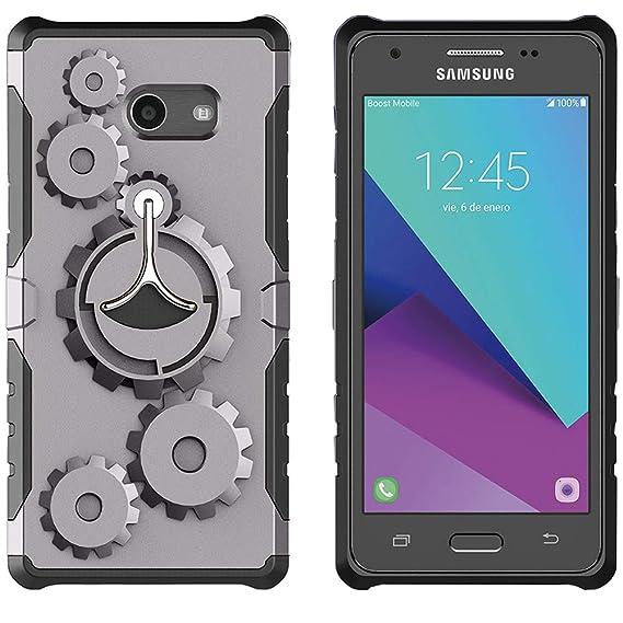 Samsung Galaxy J3 Luna Pro Case/J3 Emerge Case/Galaxy Amp Prime 2  Case/Galaxy Sol 2 / J3 Eclipse Phone Case Shinwo Gear Rugged Heavy Duty