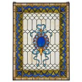Stained Glass Panel - Cranbrook Terrace Stained Glass Window Hangings - Window Treatments
