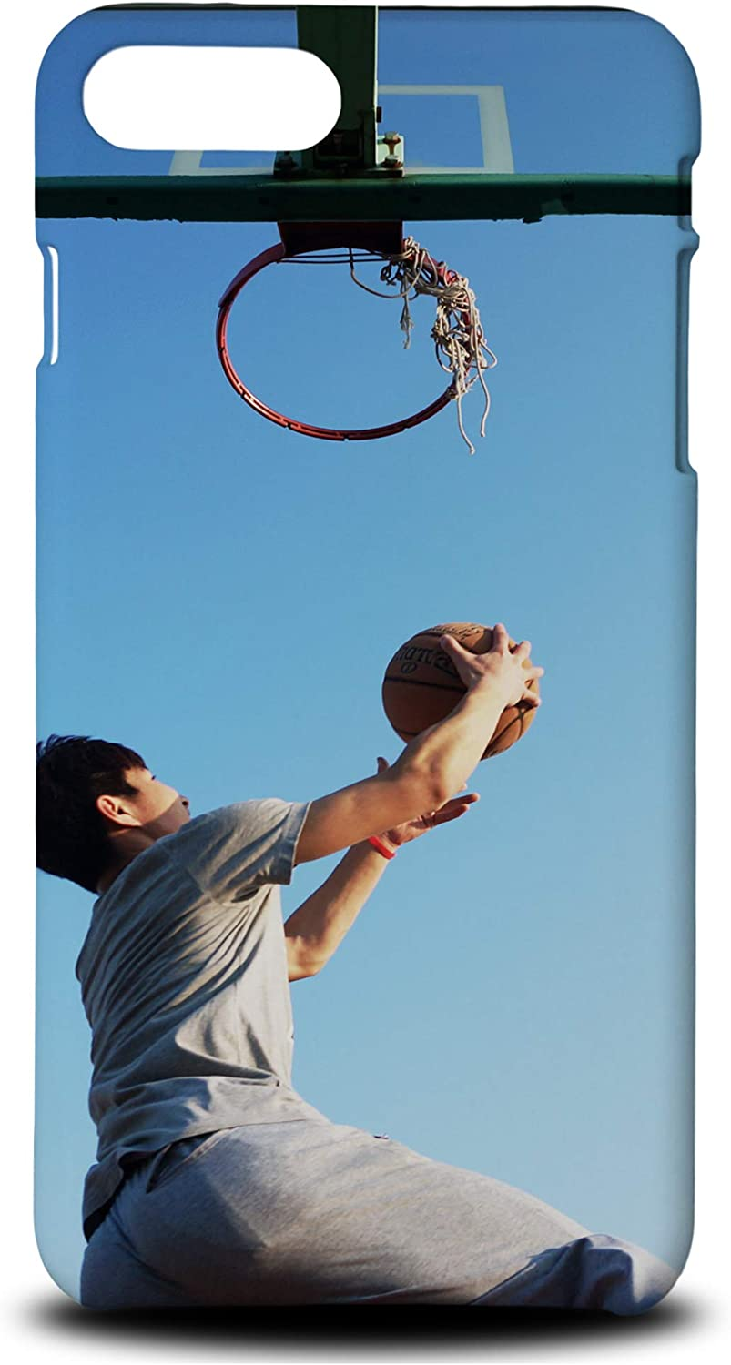 FOXSTA Cover Designs Man Dunking The Ball Phone Case Hard Back Cover for Apple iPhone 7 Plus/8 Plus