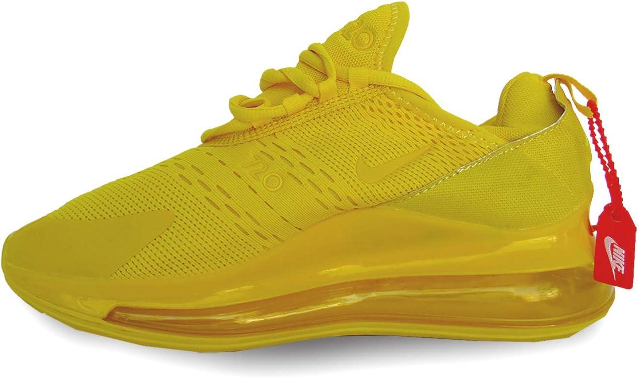 Jane Austen Escéptico compromiso  Tenis Nike Air MAX 720 Amarillo: Amazon.com.mx: Deportes y Aire Libre