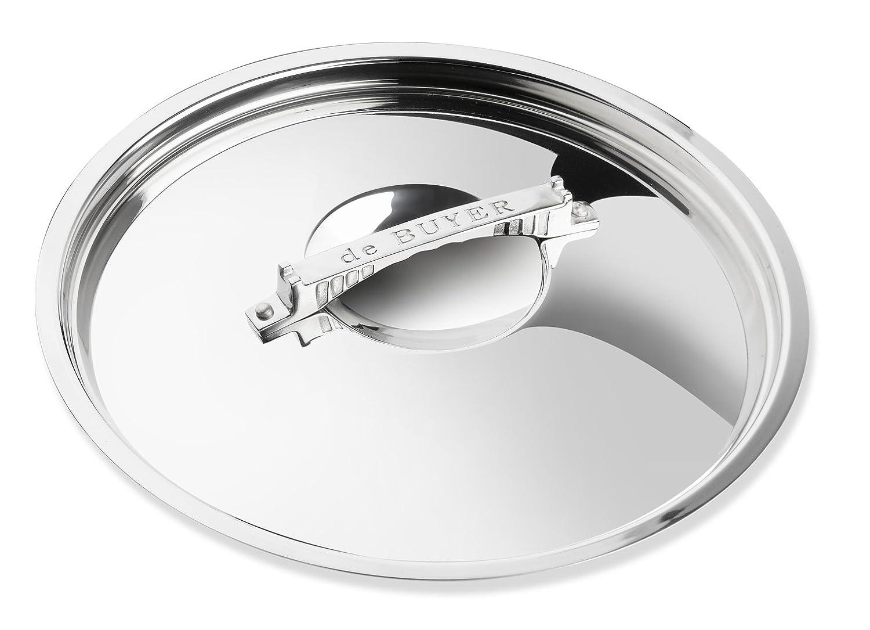 DE BUYER 3754.24 Cookware Lid, 9.5-Inch