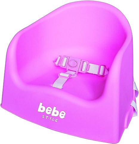 Bebe Style Asiento/silla portable Baby Dining Booster con arnés de ...