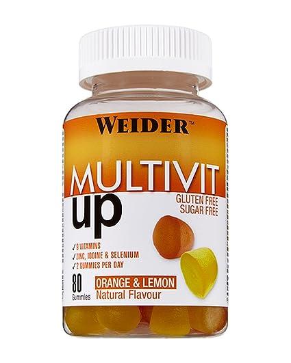 Weider Vitaminas sin Gluten Multivit - 100 gr