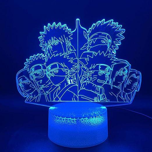 CYJQT 3D Night Light ChildrenS Emotion Light Optical Light ...