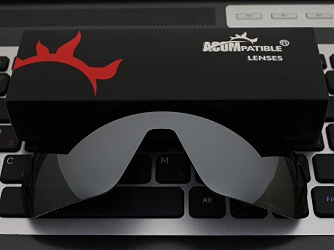 3e9607a8275 Amazon.com  ACOMPATIBLE Replacement Polarized Lenses for Oakley Offshoot  Sunglasses OO9190 (Titanium Mirror)  Home Improvement