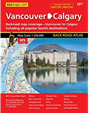 Calgary to Vancouver Backroad Atlas