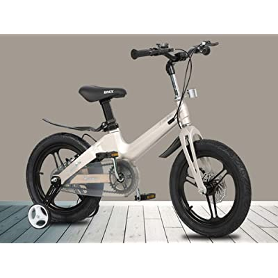 LINGS Foldable Bicycle Kids' Bikes Children's Bicycle 14 Inch 3-6-8 Years Boy Girl Bicycle: Home & Kitchen
