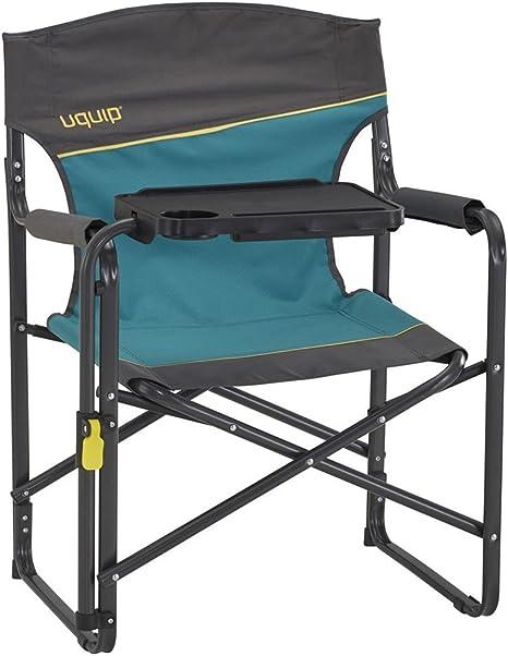 Uquip Woody - Silla del director - Con mesa ajustable, portavaso ...