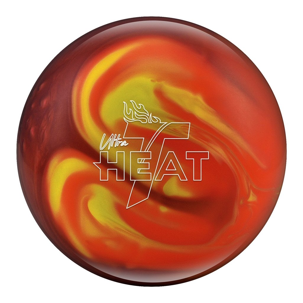 トラックUltra Heat Bowling ball-オレンジ/レッド/イエロー B079QM8V29  13lbs