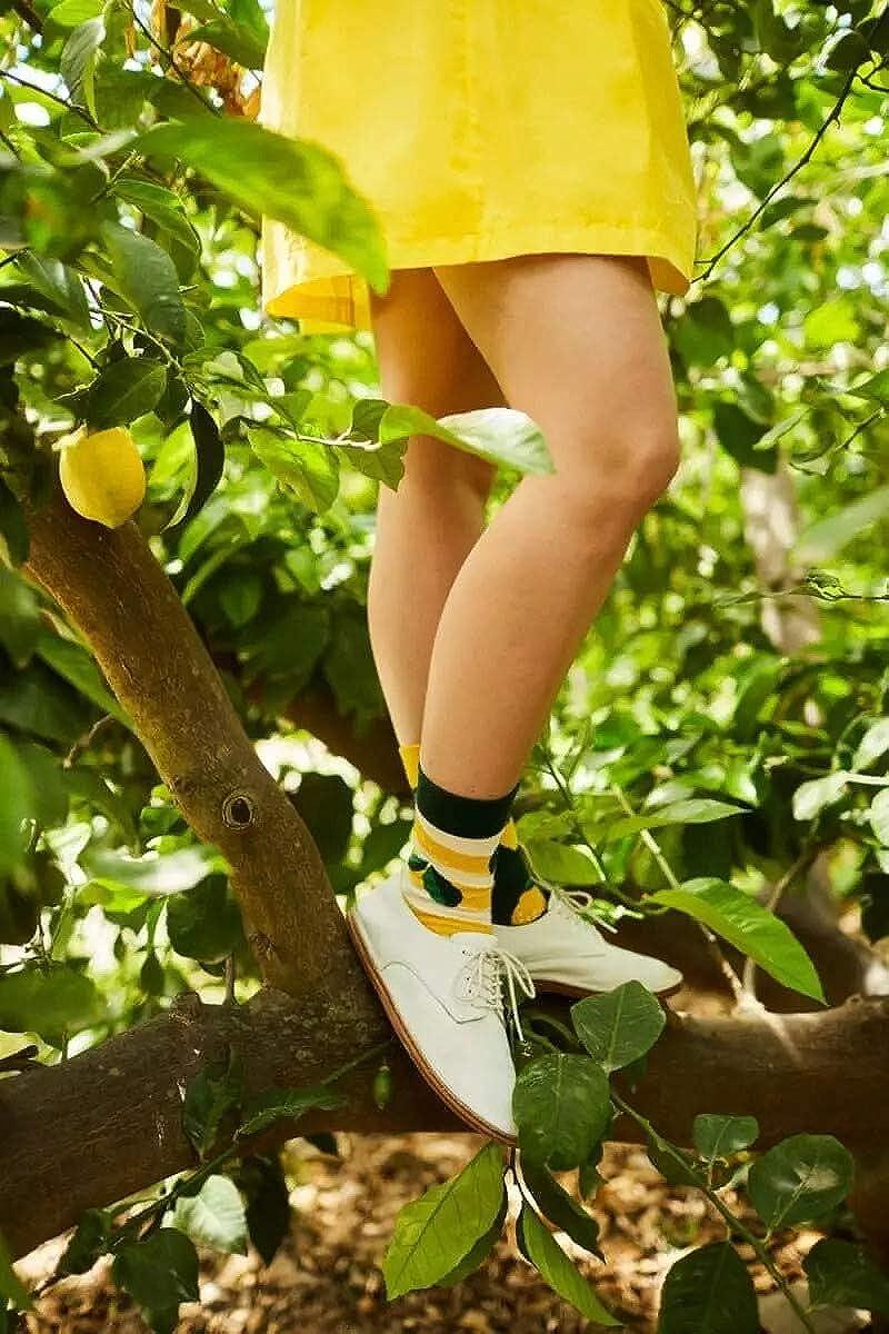 The Lemons Kids Many Mornings Socken Kinder