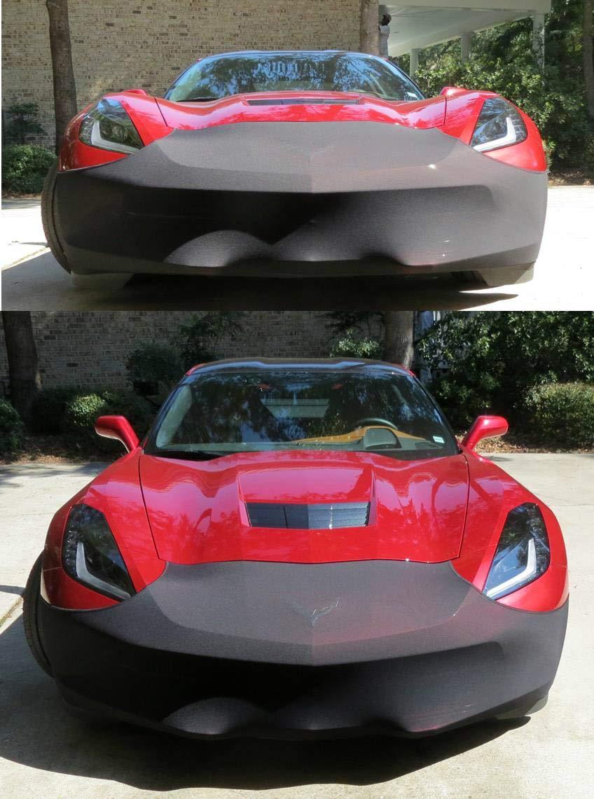 ZO6 and Grand Sport FBM750V-2 C7 2014 and Newer Corvettes Including The Z51 C7 Corvette Stingray NoviStretch Front Bra High Tech Stretch Mask Fits